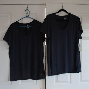 2 old navy active shirt size xxl